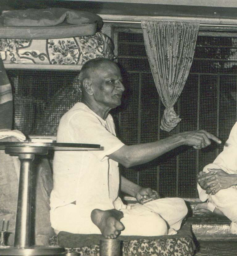 Nisargadatta Maharaj teaching