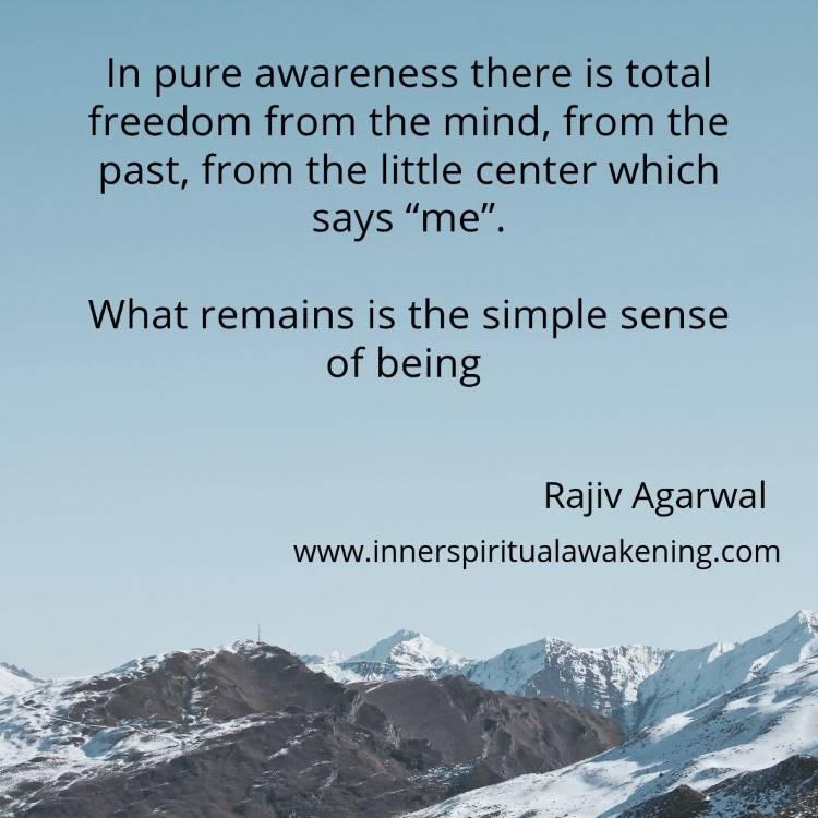 Awareness being quote Rajiv Agarwal
