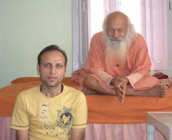 Rajiv Agarwal himalayan enlightened master sarvananadji