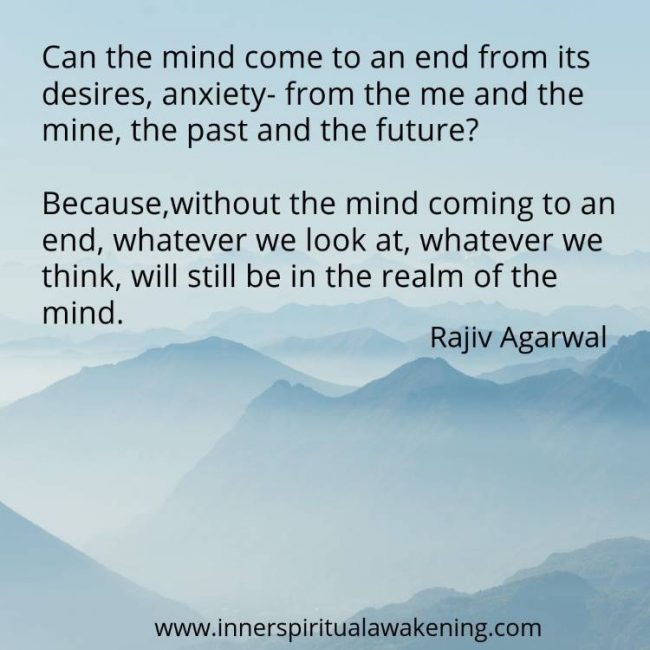 Ending of mind quote