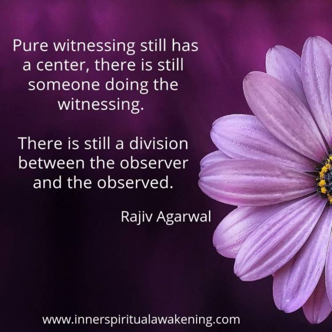 Quote witnessing Rajiv Agarwal