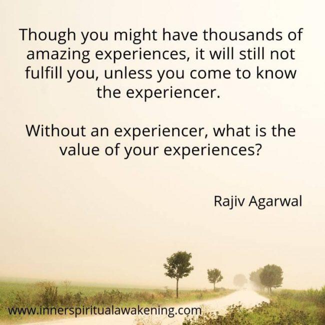 Spiritual quote consciousness content