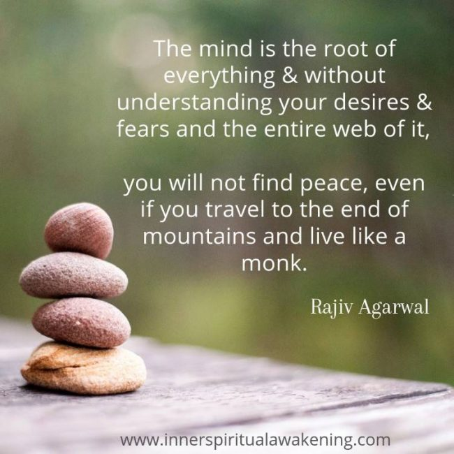 mind peace quote