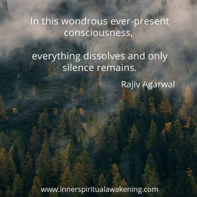 silence quote rajiv agarwal